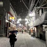 都心の大雪による交通マヒの中、効率的な帰宅方法